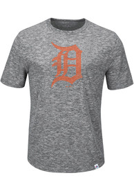 Majestic Detroit Tigers Grey Fast Pitch Tee
