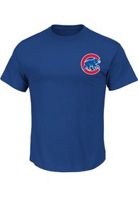 Jon Lester Chicago Cubs Blue Name and Number Player Tee