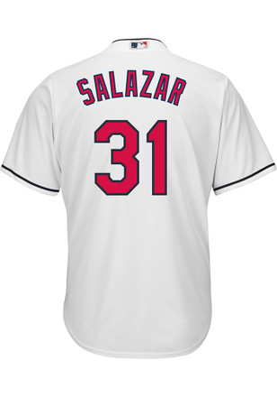 Danny Salazar Cleveland Indians Mens Replica Cool Base Jersey