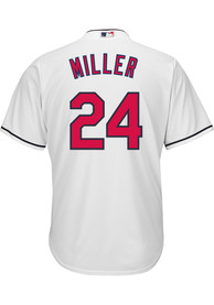 Andrew Miller Cleveland Indians Majestic Home Replica - White