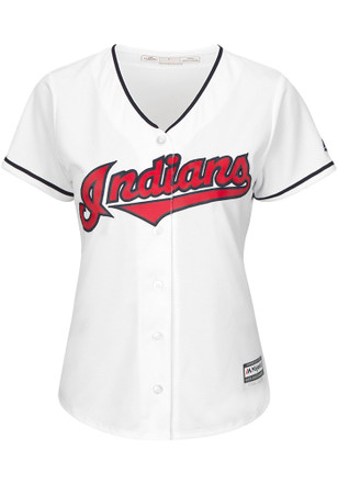 Andrew Miller Cleveland Indians Womens Replica Cool Base Home Jersey