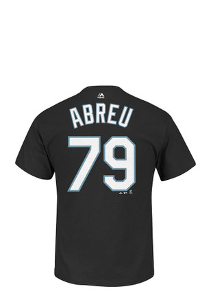 Jose Abreu Chicago White Sox Mens Blue Name and Number Player Tee