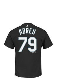 Jose Abreu Chicago White Sox Black Player Tee