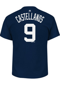 Nick Castellanos Detroit Tigers Navy Blue Name and Number Player Tee
