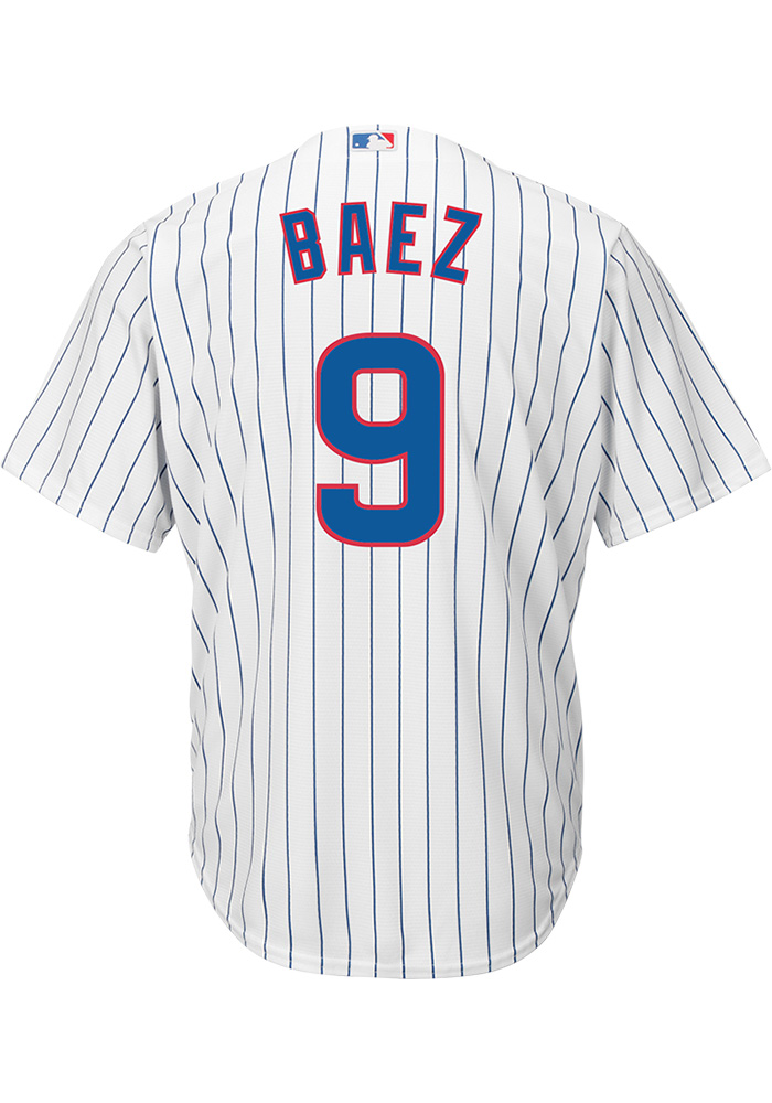 Javier Baez Chicago Cubs Replica Home Jersey a35dd6213