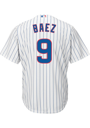 Javier Baez Chicago Cubs Mens Replica Home Jersey