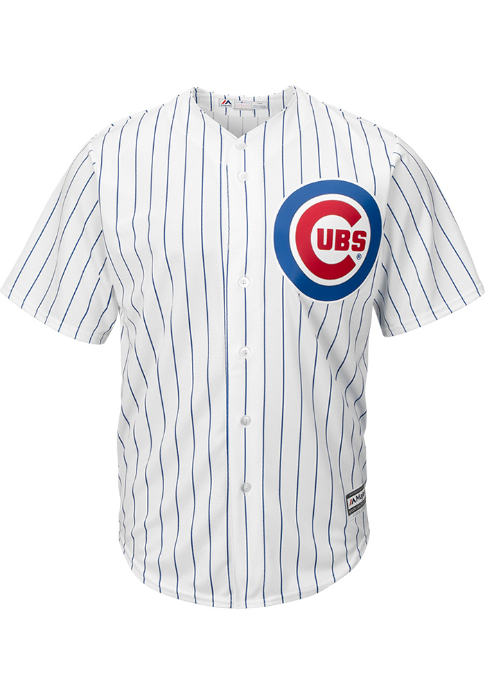 Javier Baez Chicago Cubs Mens Replica Home Jersey - White - Image 2