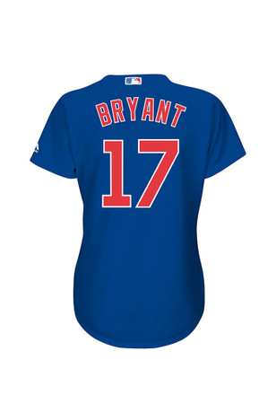 Kris Bryant Chicago Cubs Womens Replica Cool Base Home Jersey
