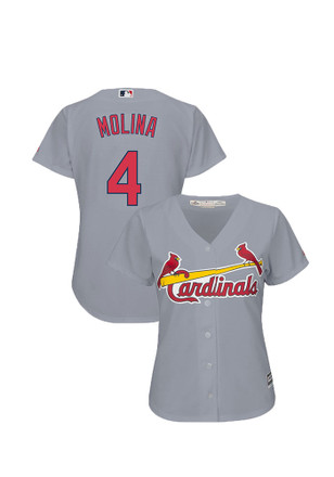 Yadier Molina St Louis Cardinals Womens Replica Cool Base Jersey Jersey