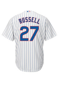 Addison Russell Chicago Cubs Majestic 2019 Home Replica - White