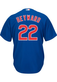 Jason Heyward Chicago Cubs Majestic 2019 Alternate Replica - Blue