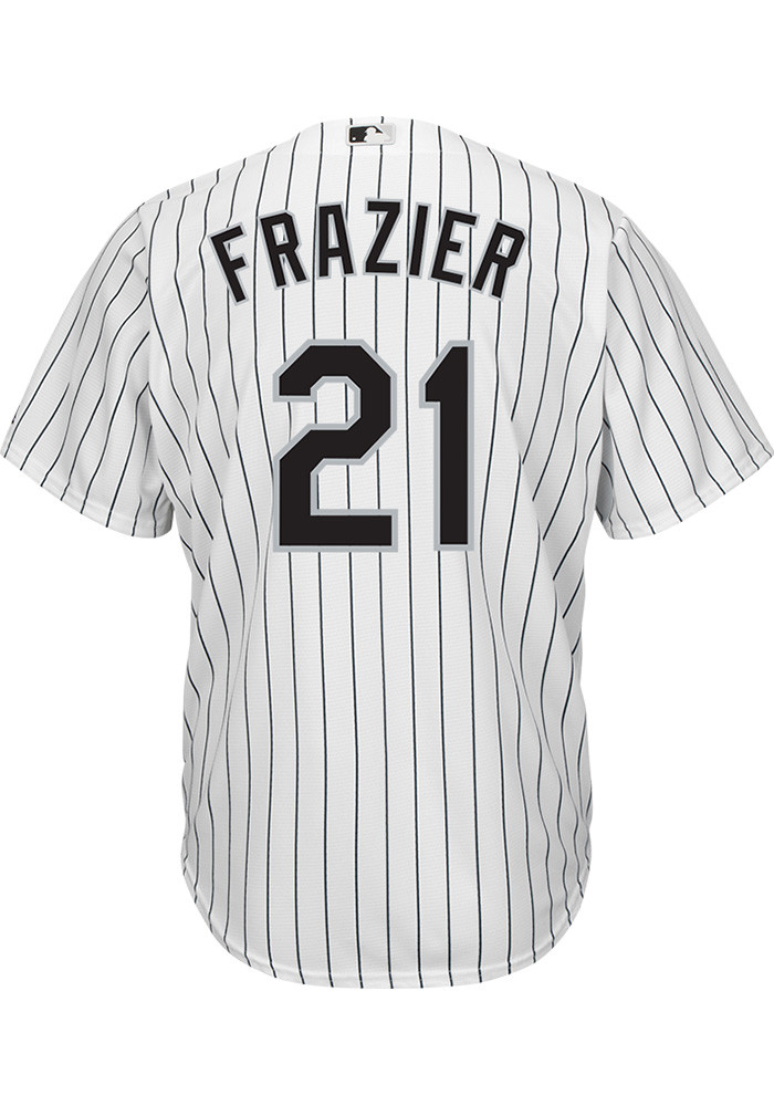 Todd Frazier Chicago White Sox Mens Replica Cool Base Home Replica Jersey - White - Image 2