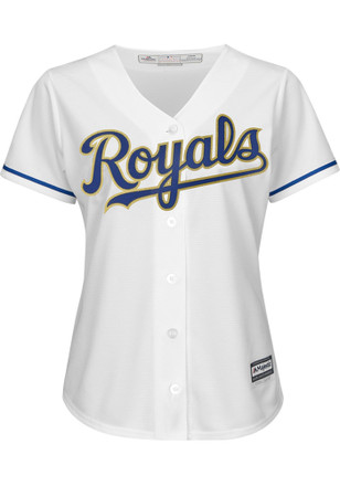 Eric Hosmer KC Royals Womens 2017 Replica Cool Base Gold Alternate Jersey