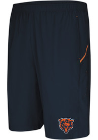Majestic Chicago Bears Navy Blue Cut Above Shorts