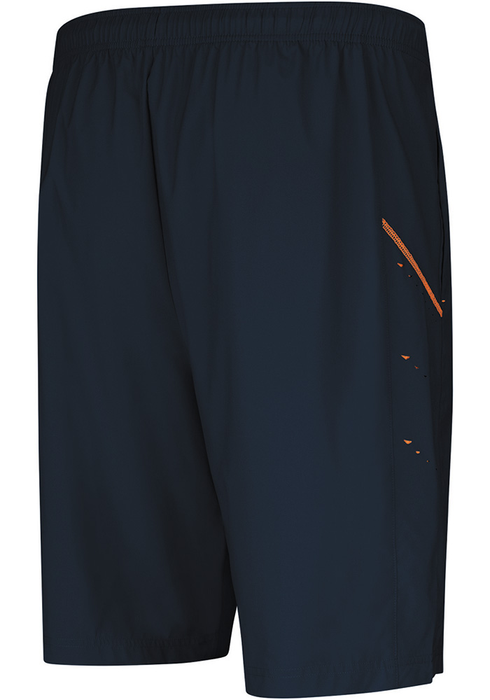 Majestic Chicago Bears Mens Navy Blue Cut Above Shorts - Image 2