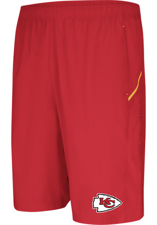 Majestic Kansas City Chiefs Mens Red Cut Above Shorts