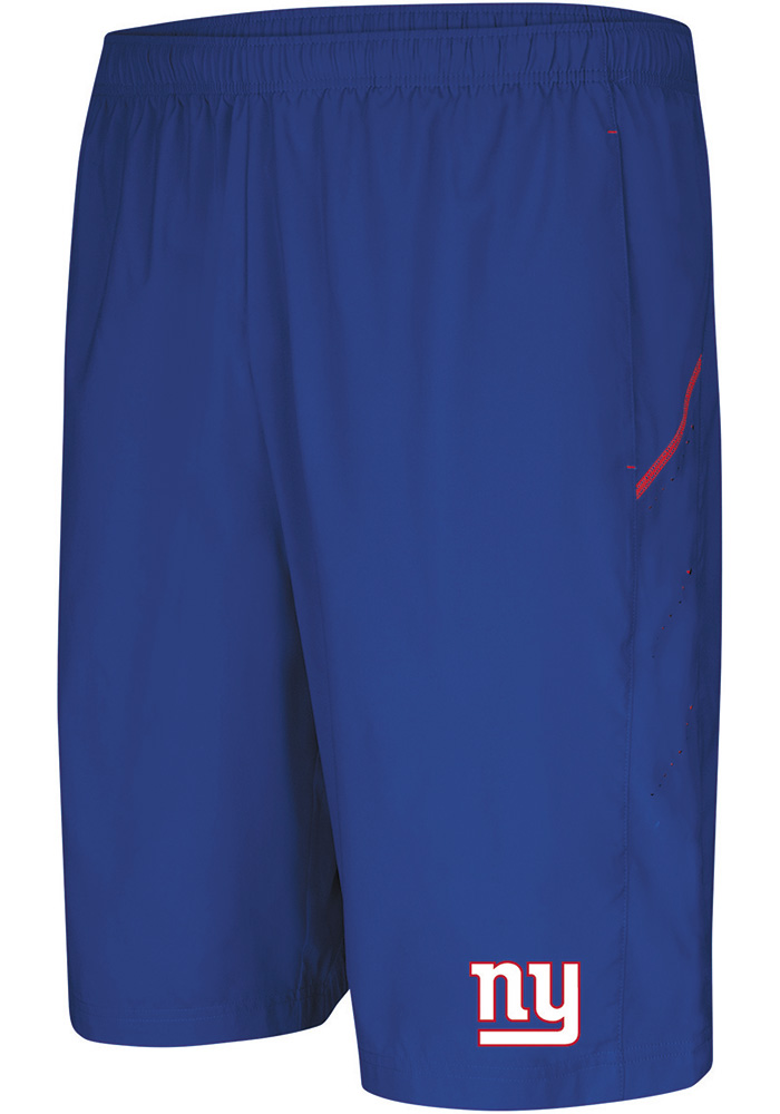 Majestic New York Giants Mens Blue Cut Above Shorts - Image 1