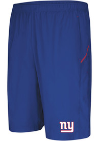 New York Giants Majestic Cut Above Shorts - Blue