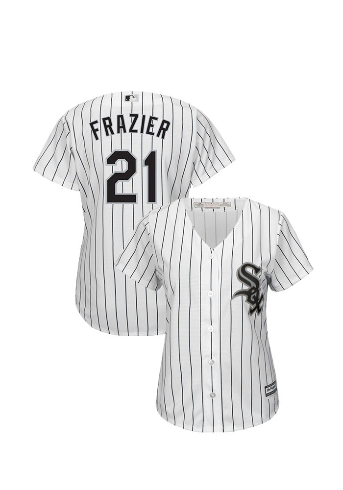Todd Frazier Chicago White Sox Womens Replica Cool Base Home Jersey - White - Image 1