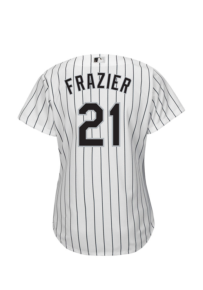 Todd Frazier Chicago White Sox Womens Replica Cool Base Home Jersey - White - Image 2