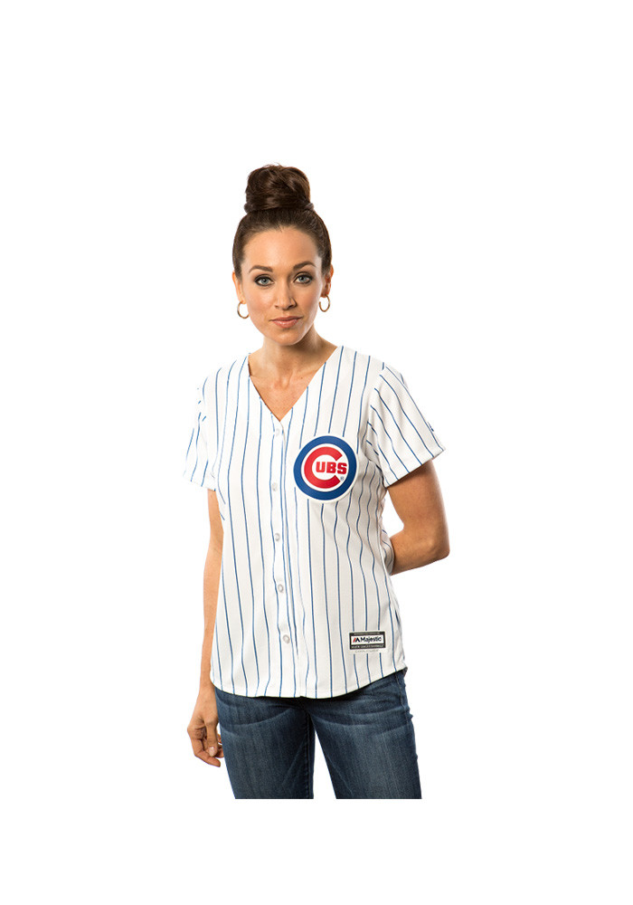 Jason Heyward Chicago Cubs Womens Replica Team Jersey - White - Image 3