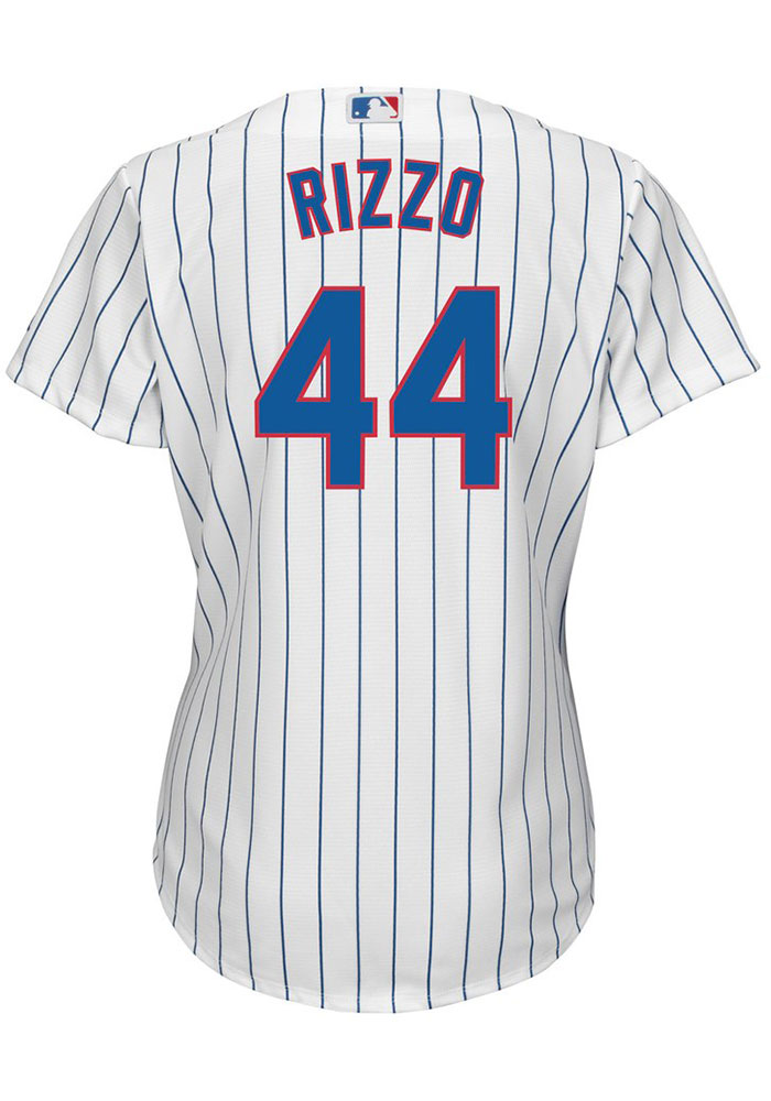 Anthony Rizzo Chicago Cubs Womens Replica Home Jersey - White - Image 1