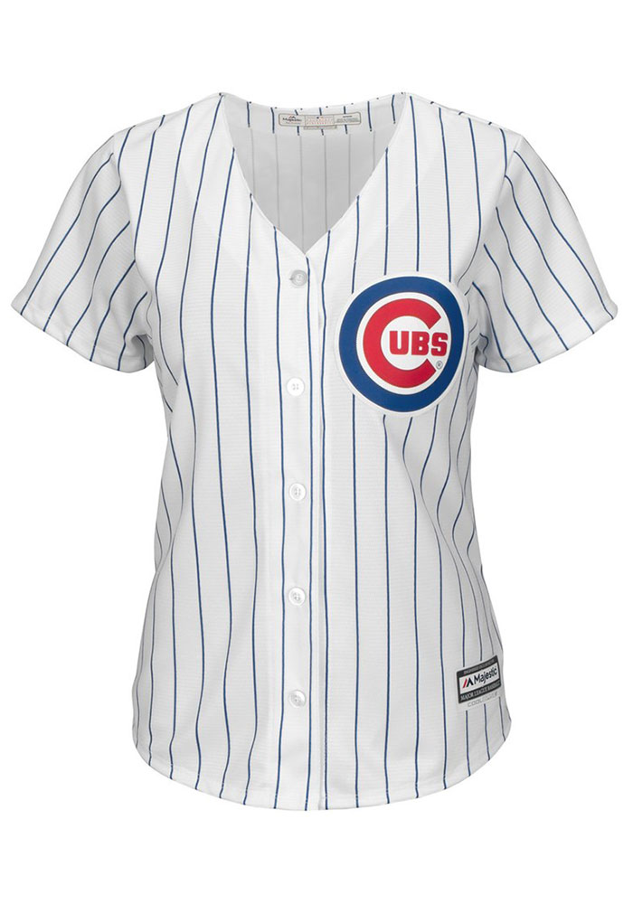 Anthony Rizzo Chicago Cubs Womens Replica 2019 Home Jersey - White - Image 2