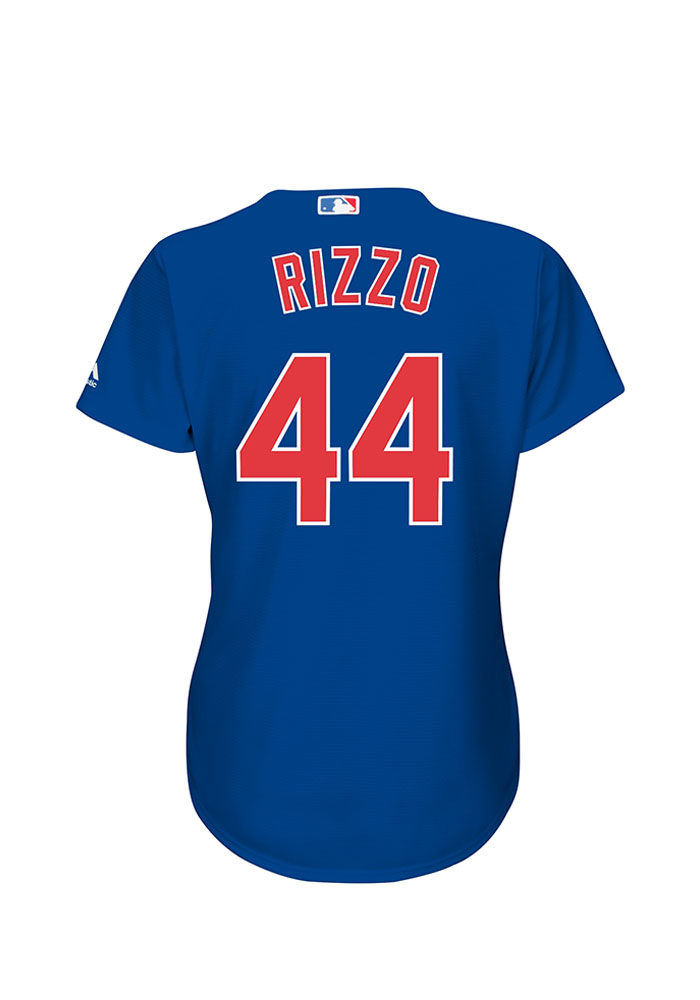 Anthony Rizzo Chicago Cubs Womens Replica Cool Base Alternate Jersey - Blue - Image 1