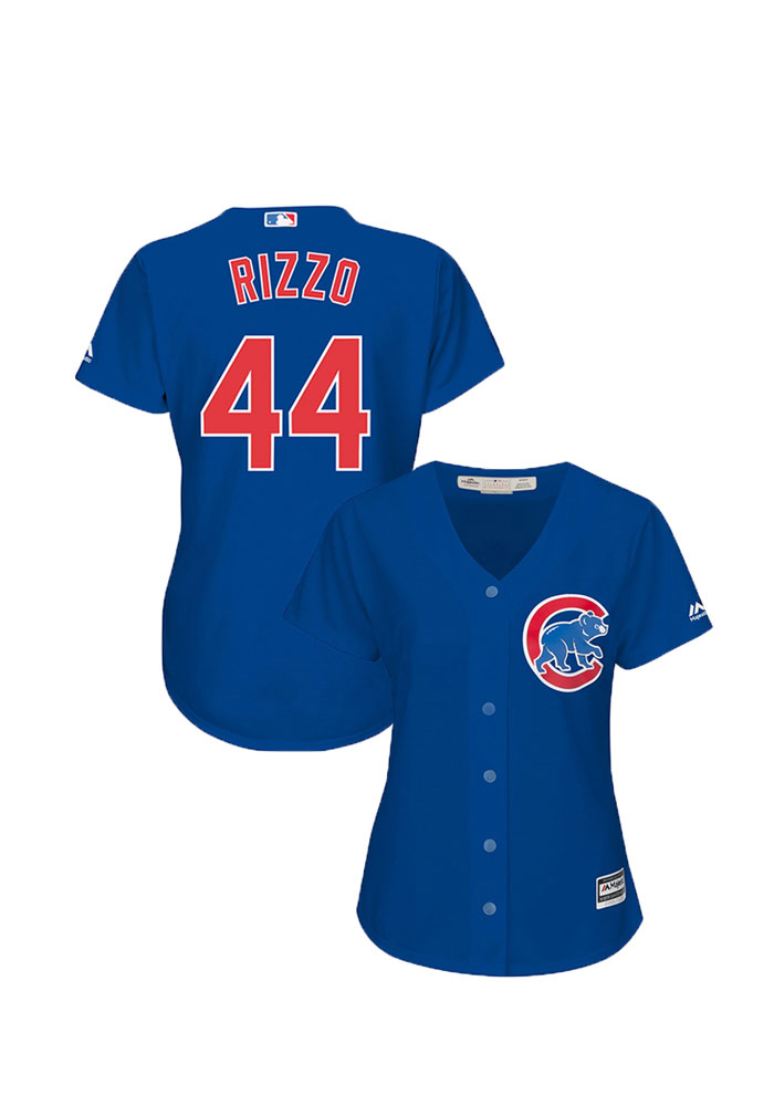 Anthony Rizzo Chicago Cubs Womens Replica 2019 Alternate Jersey - Blue - Image 3