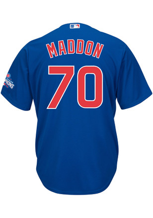Joe Maddon Chicago Cubs Mens Replica Patch Jersey