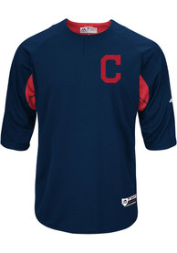 buy online 56aad 19d42 Cleveland Indians Majestic Batting Practice Jersey