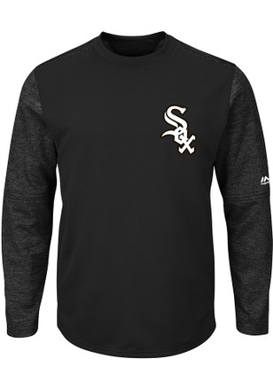 Majestic Chicago White Sox Mens Black On-Field Tech Sweatshirt