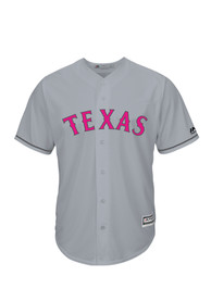 Texas Rangers Mens Majestic Replica Mothers Day Jersey