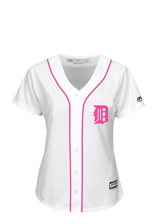 Detroit Tigers Womens Majestic Replica Mother's Day Jersey