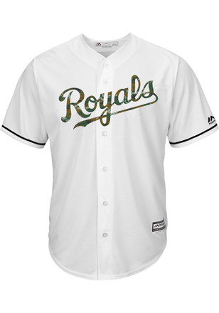 Kansas City Royals Mens Majestic Replica Memorial Day Jersey