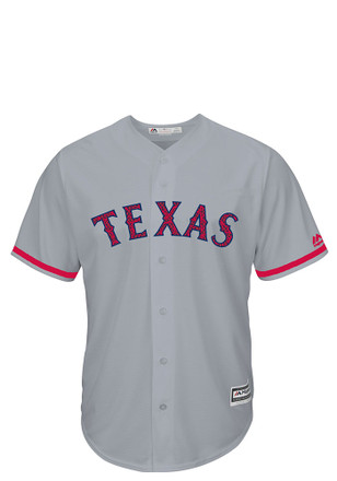 Texas Rangers Mens Majestic Replica Stars and Stripes Jersey