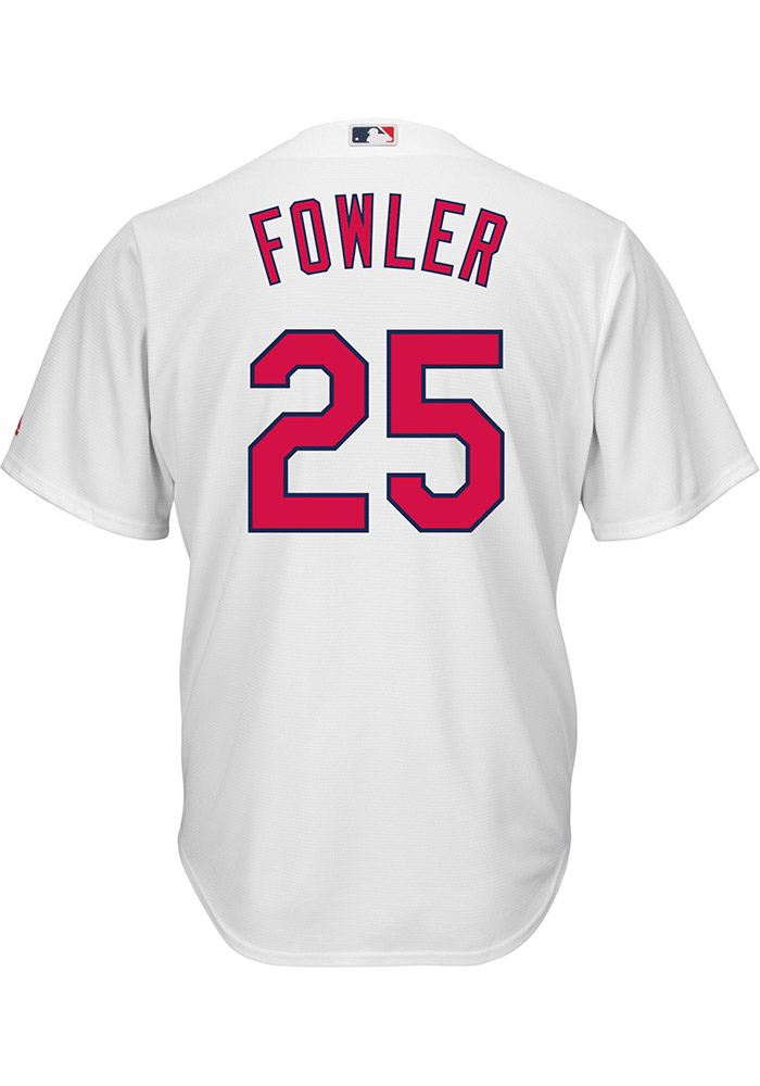 Dexter Fowler St Louis Cardinals Mens Replica Home Jersey - White - Image 1
