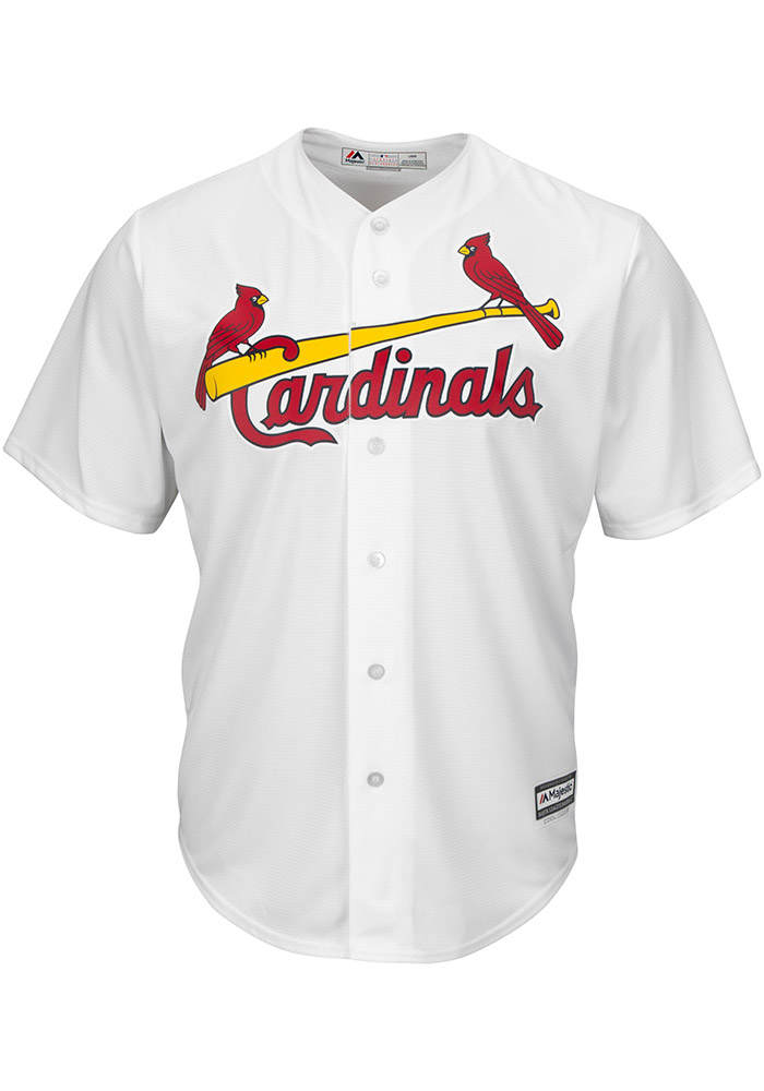 Dexter Fowler St Louis Cardinals Mens Replica Home Jersey - White - Image 2
