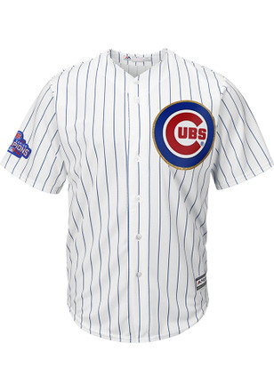 Javier Baez Chicago Cubs Mens Replica 2017 Gold Collection Jersey