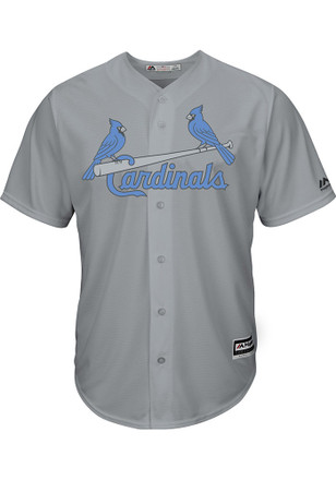 STL Cardinals Mens Majestic Replica 2017 Father's Day Jersey