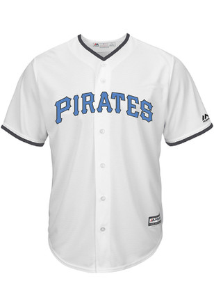 Pittsburgh Pirates Mens Majestic Replica 2017 Father's Day Jersey