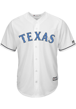 Texas Rangers Mens Majestic Replica 2017 Father's Day Jersey