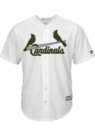 St Louis Cardinals Mens Majestic Replica 2017 Memorial Day Jersey