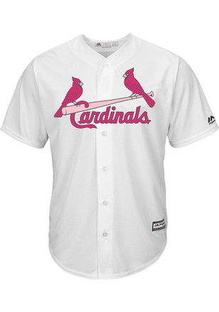 St Louis Cardinals Mens Majestic Replica 2017 Mother's Day Jersey