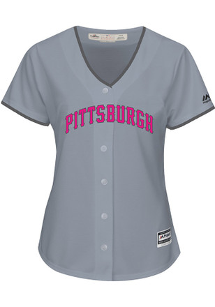 Pittsburgh Pirates Womens Majestic Replica 2017 Mother's Day Jersey