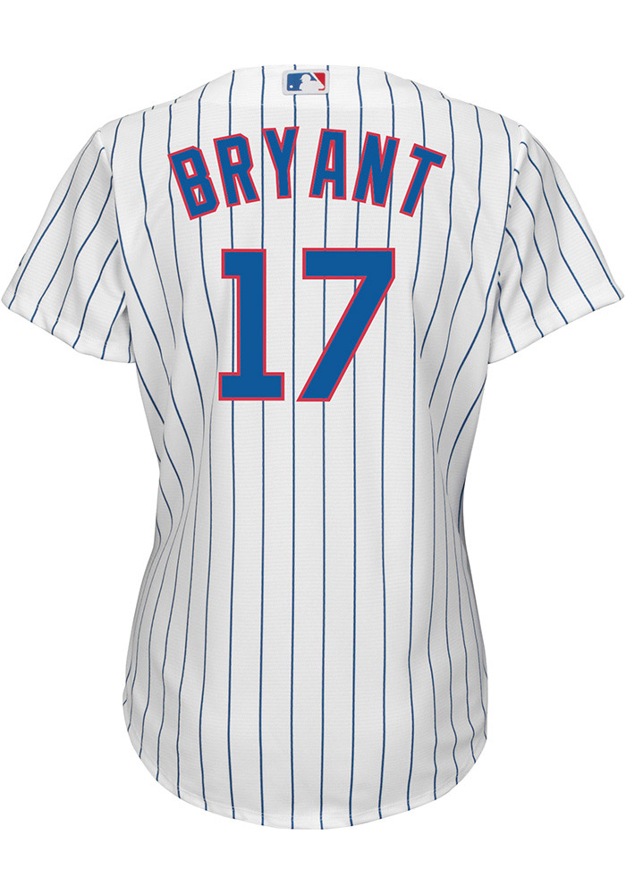 Kris Bryant Chicago Cubs Womens Replica Home Jersey - White - Image 1