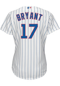 Kris Bryant Chicago Cubs Womens Majestic 2019 Home Replica - White