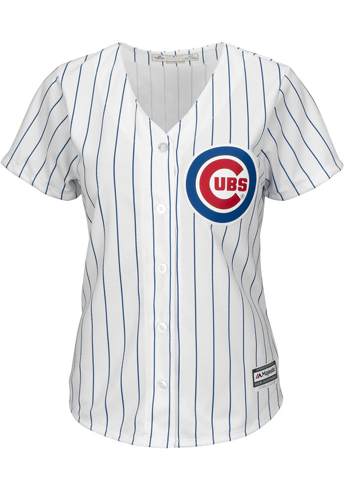 Kris Bryant Chicago Cubs Womens Replica Home Jersey - White - Image 2