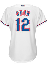 Rougned Odor Texas Rangers Womens Majestic 2019 Home Replica - White