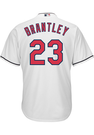 Cleveland Indians Mens Majestic Replica 2017 Home Jersey